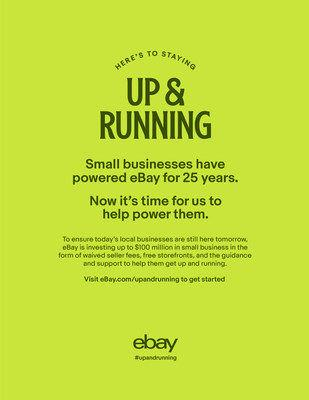 Ebay Launches Up Running To Immediately Bring Small Businesses Online News Wfmz Com