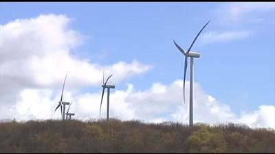 Carbon County community gets glimpse of what it could expect if wind turbine project goes through