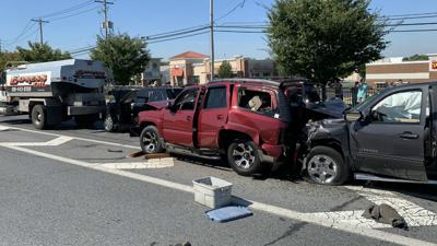 Major accident near Airport Road Shopping Center, several injured