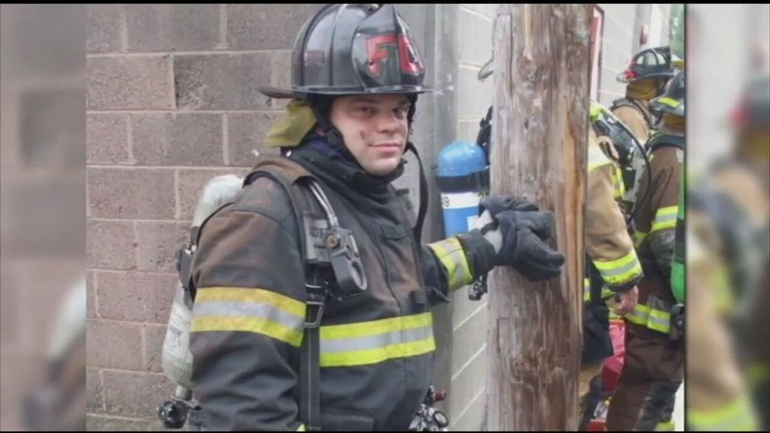 Reading firefighters recall fellow member who lost battle with cancer