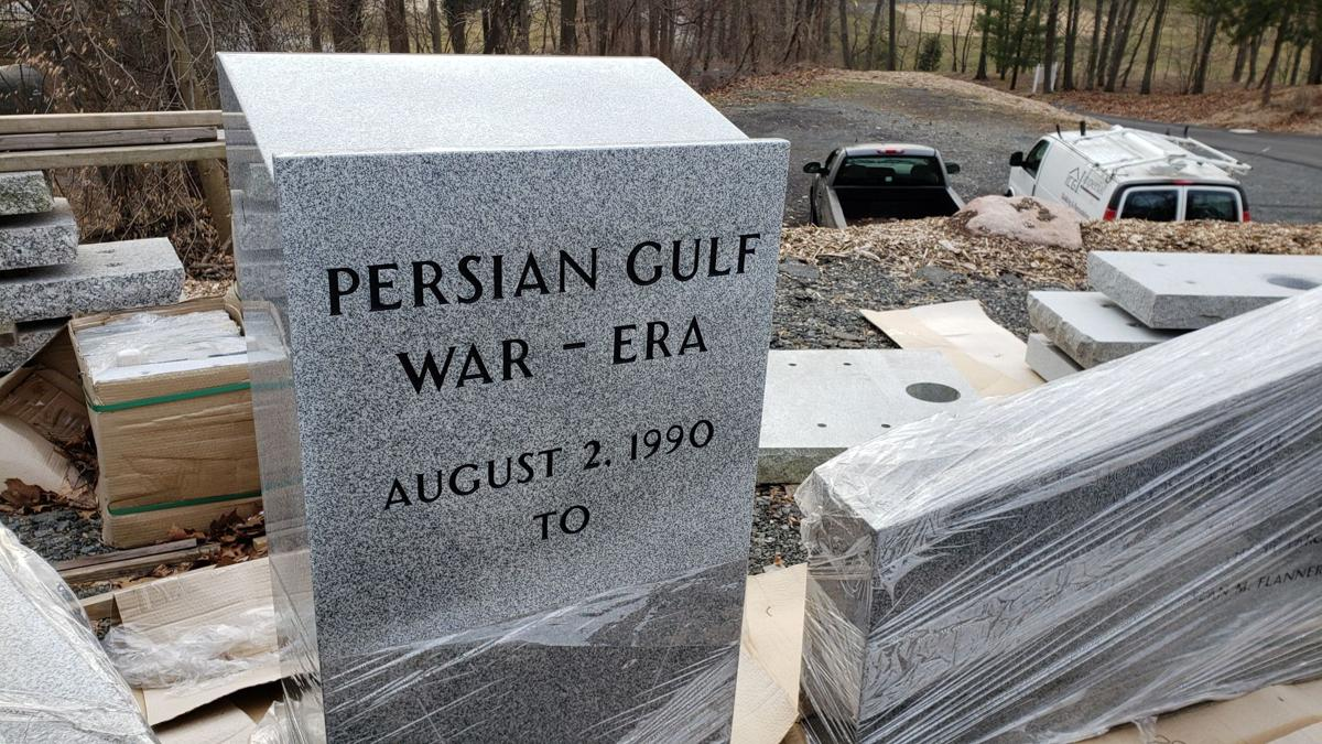 Gulf War-era Monument for Reading City Park