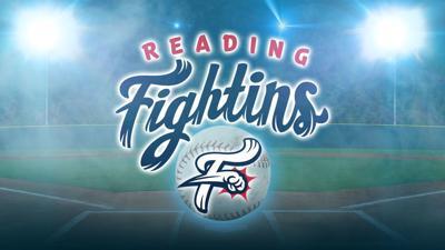 Reading Fightin Phils - R-Phils logo