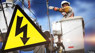 power outage wires repairs caution generic