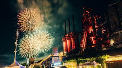 Musikfest fireworks