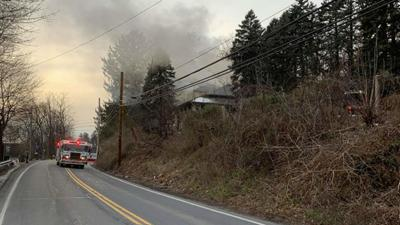 Multiple fire crews fight Salisbury Township house fire