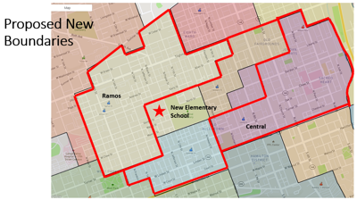 Proposed New Boundaries for Allentown elementary schools 6-12-20
