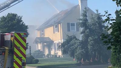 2-alarm fire damages Allentown home
