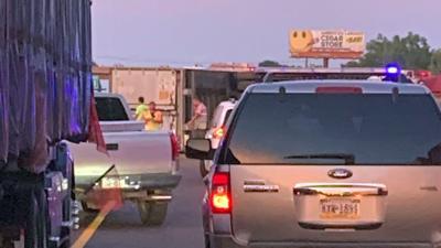 Tractor-trailer crash on I-78 sends driver to hospital