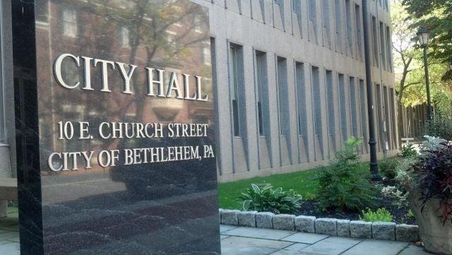 Bethlehem City Hall sign