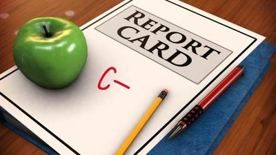Report card school grades generic