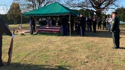 Berks' oldest war hero laid to rest by volunteer veterans