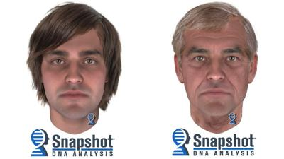 DA releases composites of possible suspect in 1975 homicide