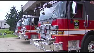 Allentown fire trucks