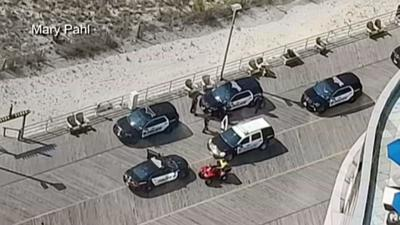 Police: Berks man dies trying to save son from ocean in AC