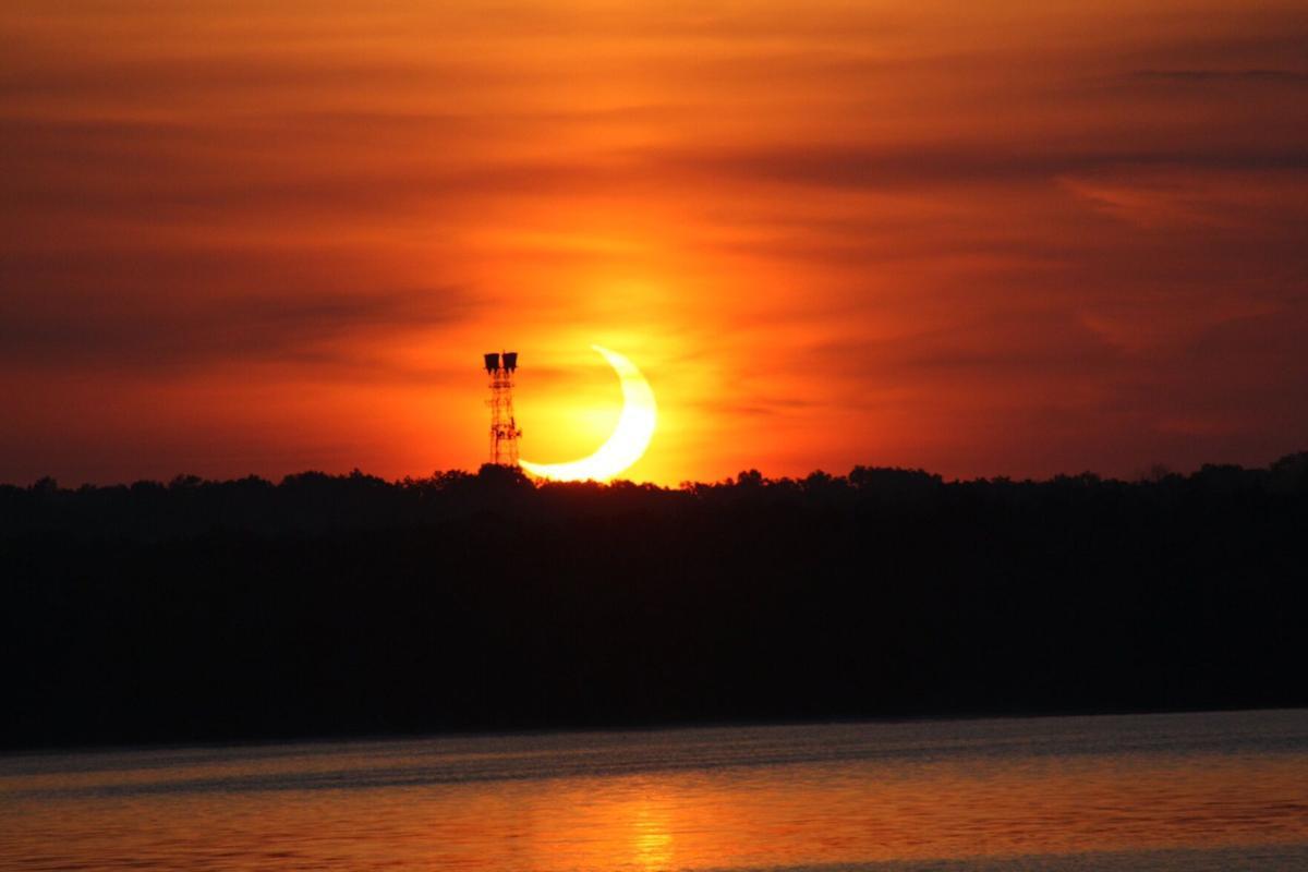Partial Solar Eclipse in Bucks County
