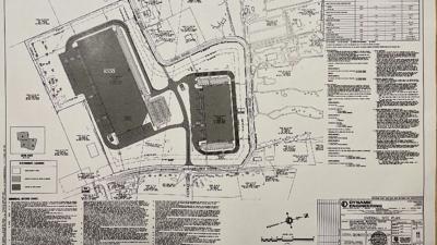 Warehouse plan for Southmoore Golf Course