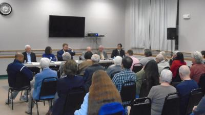 Lehigh County Commissioners debate October 28 2019