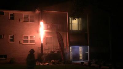 Fire damages Whitehall apartment building