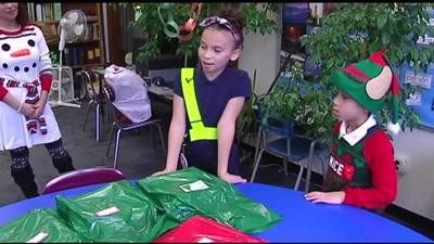 Importance of giving evident at Mosser Elementary