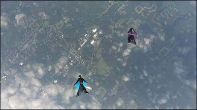 Allentown-area skydiving team flying high as they head to wingsuit flying competition