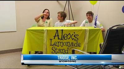 Berks business teams up with Alex's Lemonade Stand