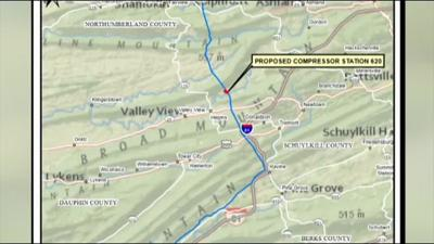 Williams Company selects site in Schuylkill County for proposed gas compressor station
