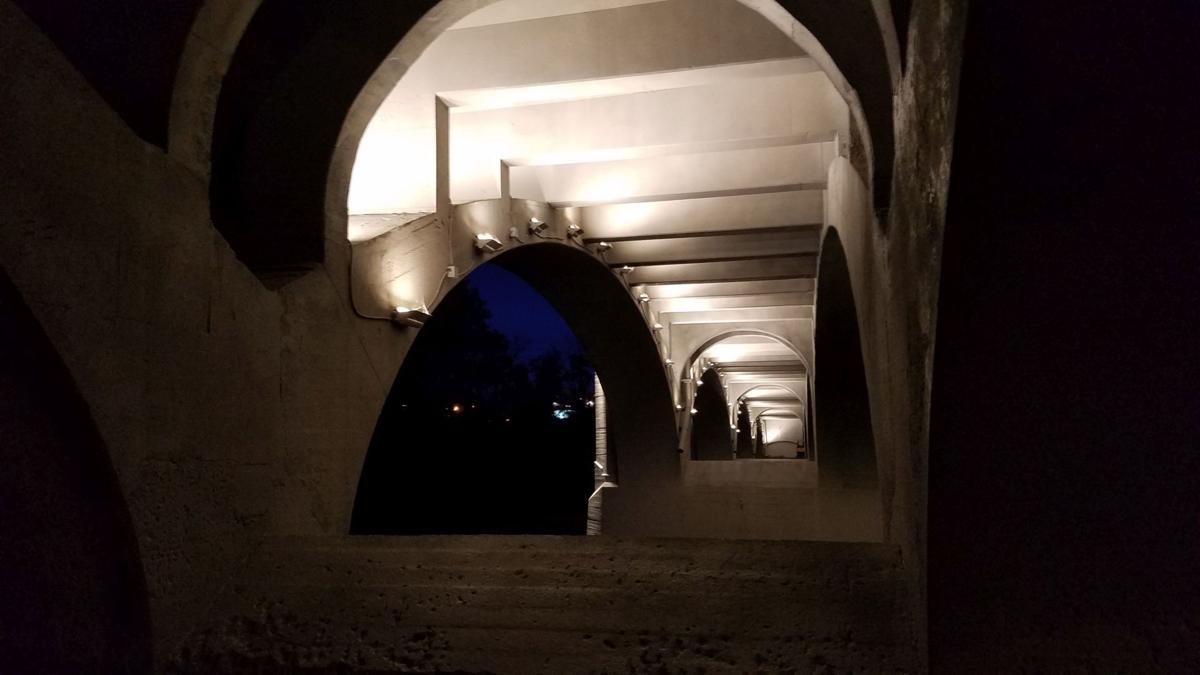 10-16-19 Penn Street Bridge in Reading at night 3.jpg