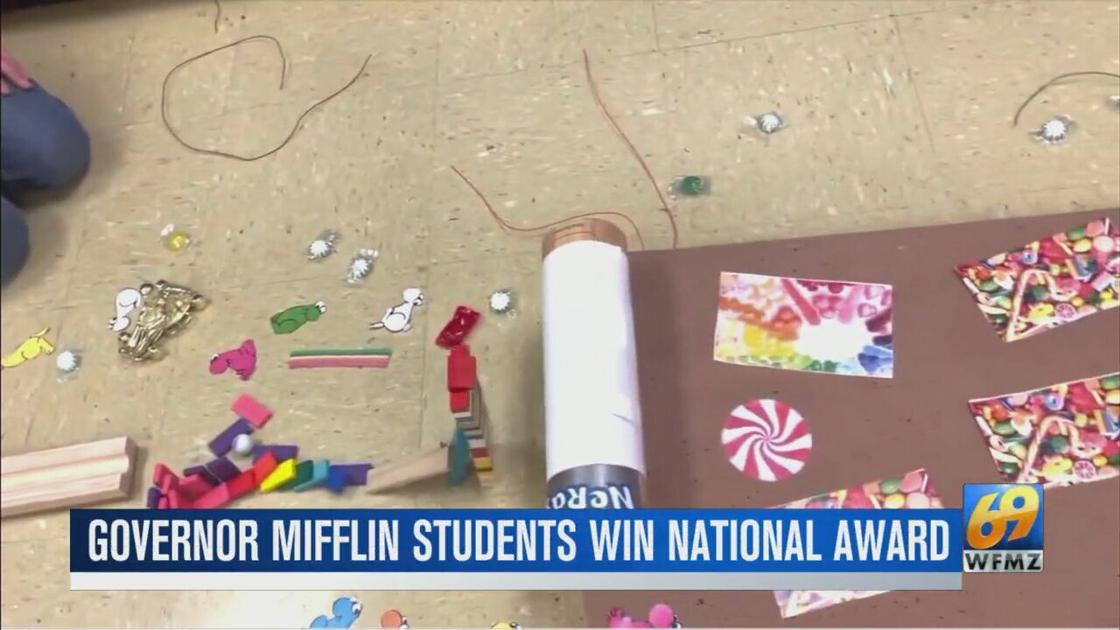 Governor Mifflin students bring home national award
