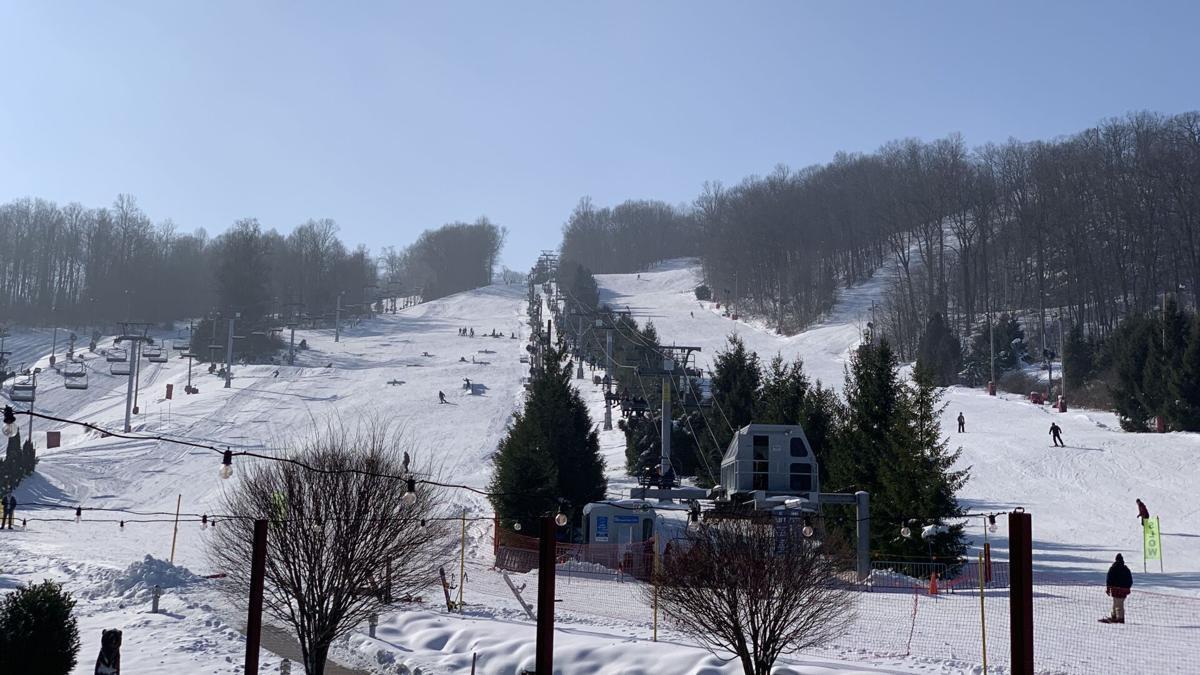 Bear Creek Mountain Resort ski season opening day