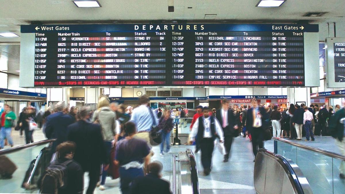 New York's Penn Station - Amtrak