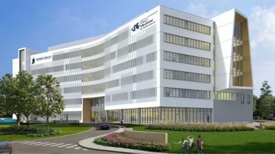 Updated rendering of Drexel College of Medicine at Tower Health