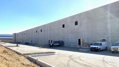 New LogistiCenter warehouse in Bethel nearing completion