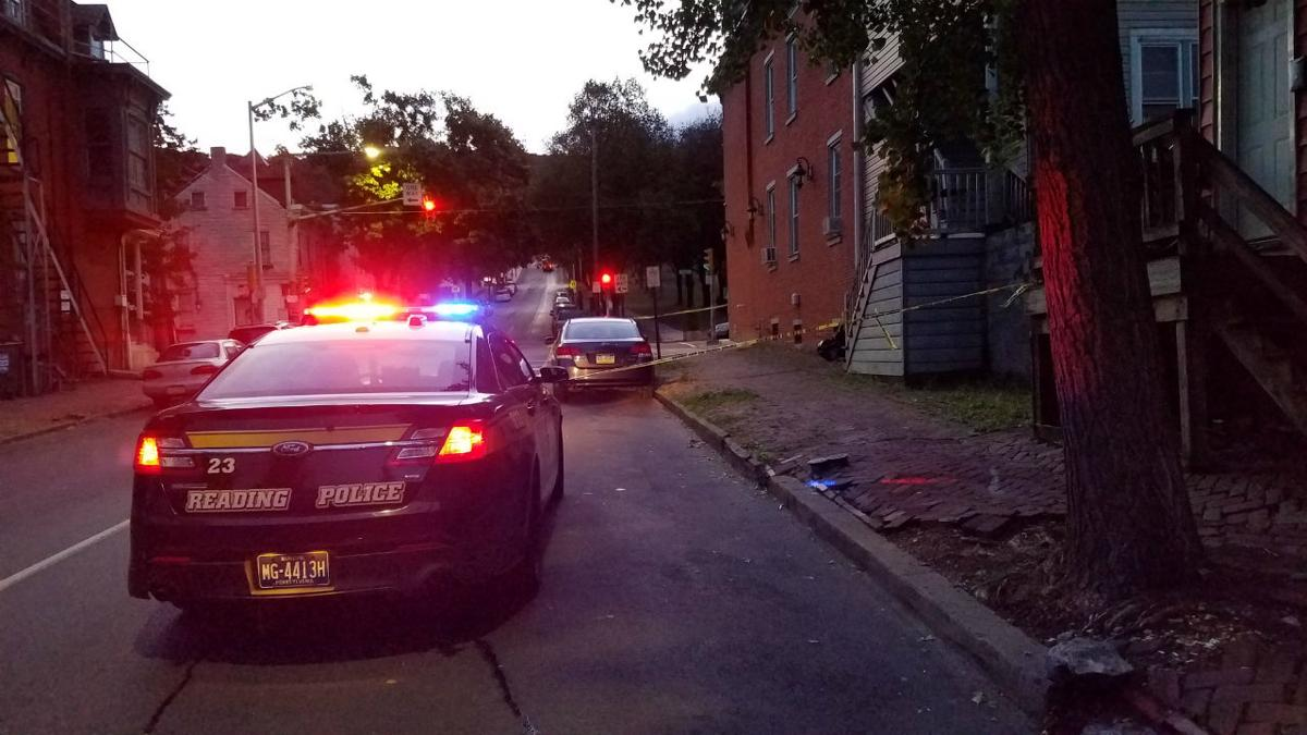 11th and Walnut streets Reading fatal shooting 2