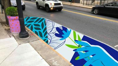 First Friday mural