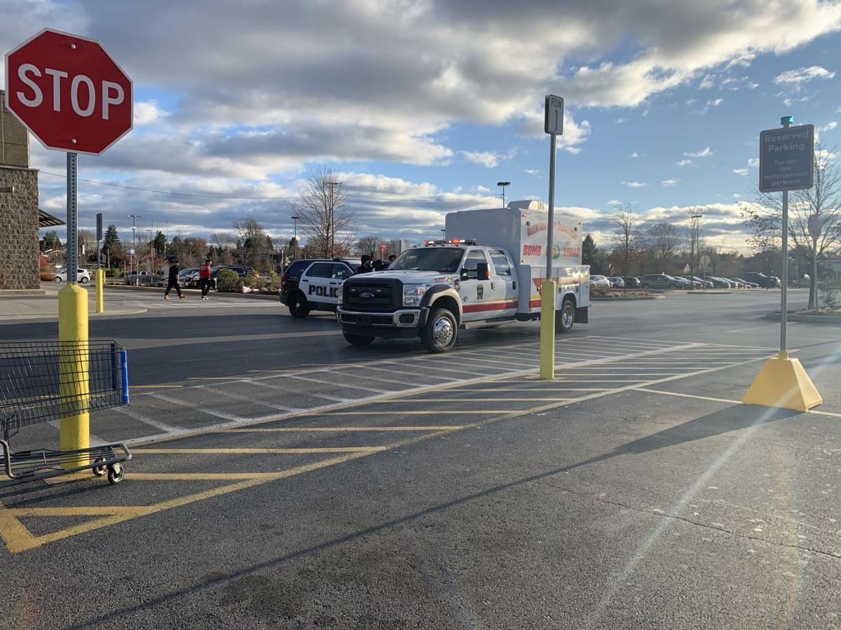 Bomb squad reports to Whitehall Walmart