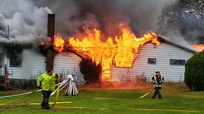 former Mahoning Valley golf course West Penn Township fire
