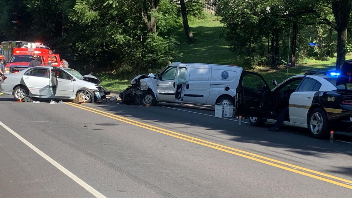 Crash on Route 183 in Bern