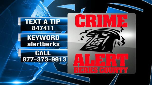 Crime Alert Berks County text-a-tip