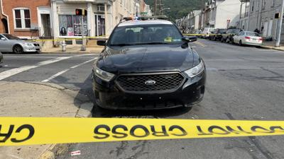 Shooting at North 10th and Spring streets in Reading