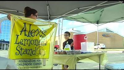 Allentown firefighter, family host Alex's Lemonade Stand