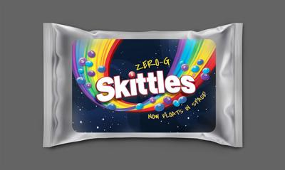 Mars Wrigley Launches Limited Edition Zero-G SKITTLES® to Commemorate the Brand's First Trip To Space, Creating Better Moments and More Smiles For Extraterrestrial Travels.
