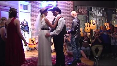 "Couple who met while working at Martin Guitar say ""I Do"" on Make Music Day"