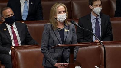 U.S. Rep. Madeleine Dean on House floor
