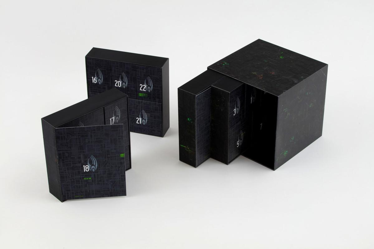 Resistance to Hero Collector's Borg Cube Advent Calendar will be futile.
