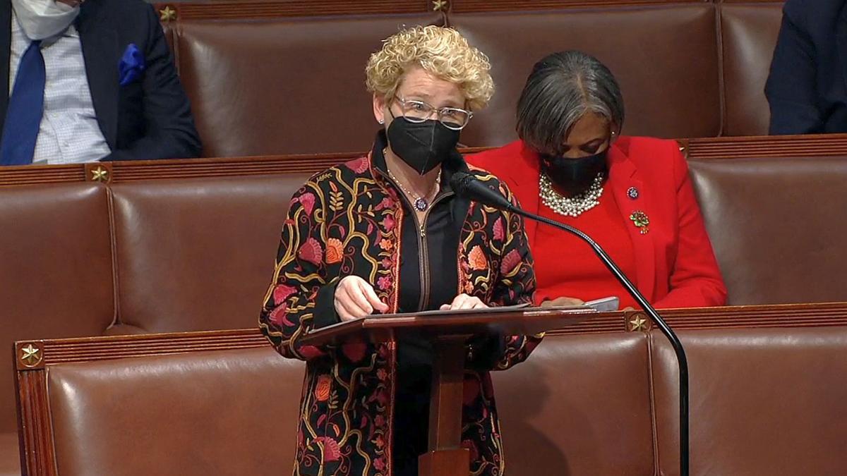 U.S. Rep. Chrissy Houlahan on House floor