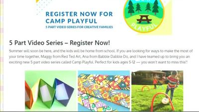 Local blogger offers free, virtual summer camp for kids