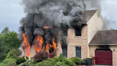 Whitehall Township house fire