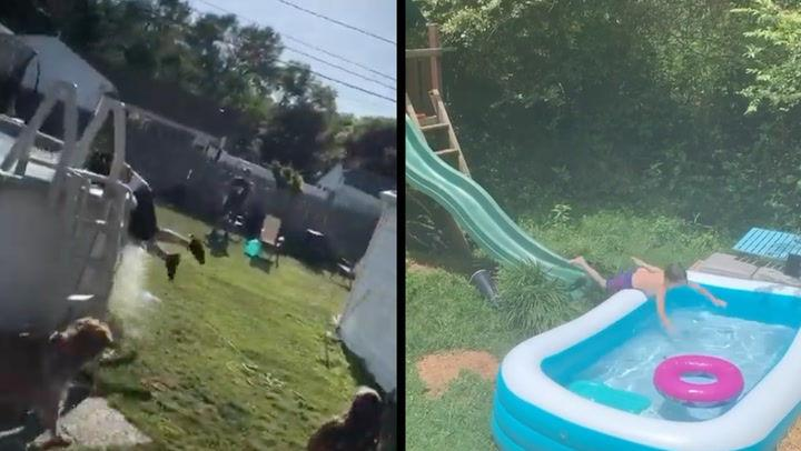 WATCH: Is it even summer without a few pool fails?
