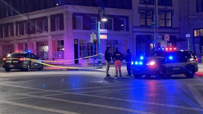 Pedestrian struck at 5th and Penn streets in downtown Reading