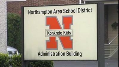 Northampton Area School District generic sign